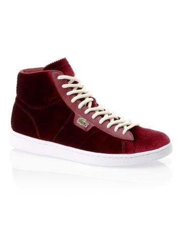 Sneakers Broadwick en velours et cuir