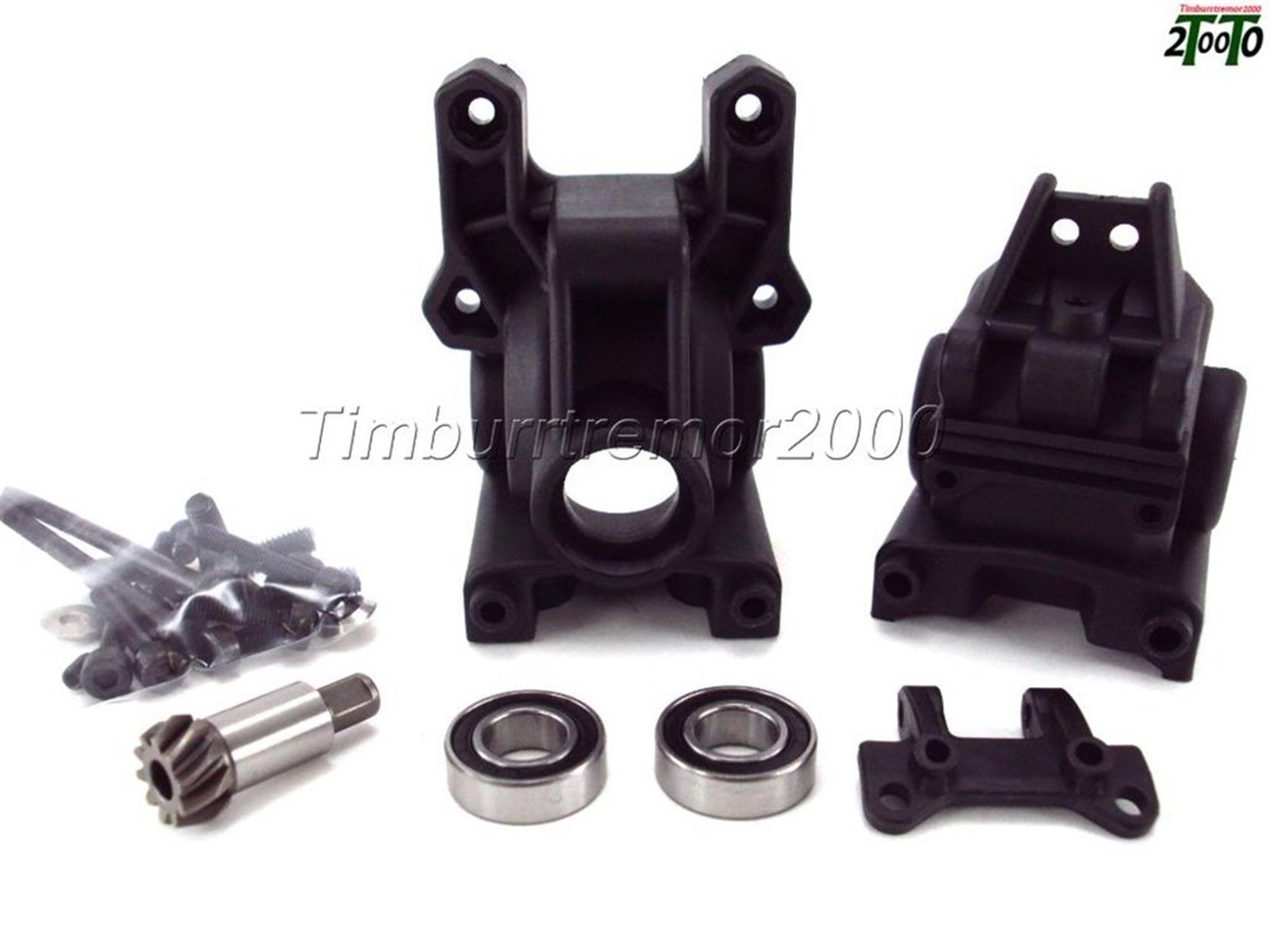 Team Associated Gearbox front and rear ASC89017