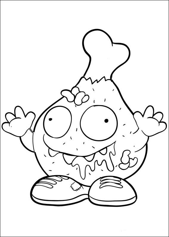 grossery gang coloring pages Trash Pack Fargelegging for barn. Tegninger for utskrift og  grossery gang coloring pages