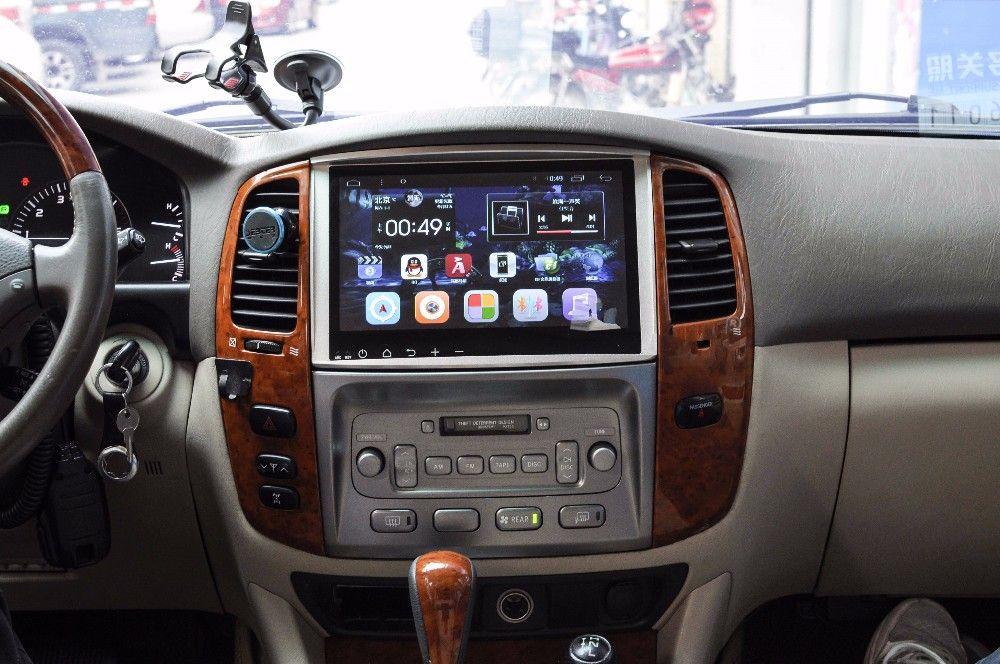 10 2 Android Autoradio Headunit Car Stereo Audio Head Unit For Toyota Land Cruiser 100 Lc100 Lexus Lx4 Toyota Land Cruiser 100 Lexus Lx470 Toyota Land Cruiser
