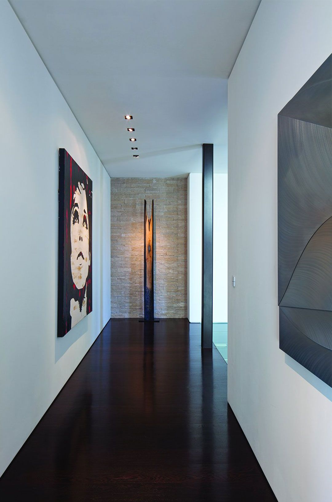 Hallway luxury interior design interior architecture beverly hills wall design house design