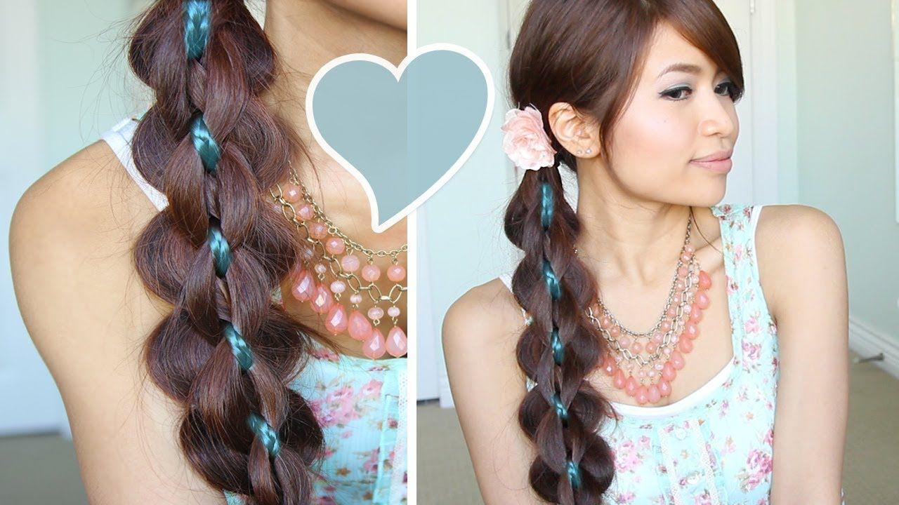Intricate strand braid hair tutorial hairstyle bebexo trenzas