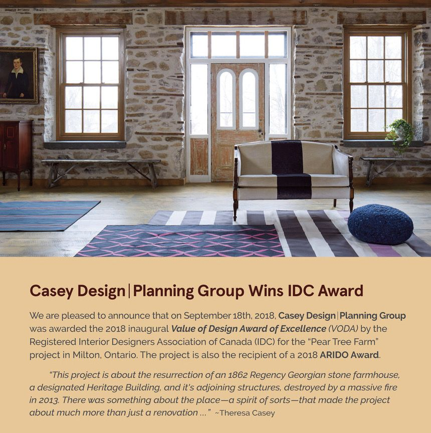 Pear Tree Farm Project Wins Inaugural Idc And Arido Awards For Excellence In Design Farm Projects Tree Farms Design