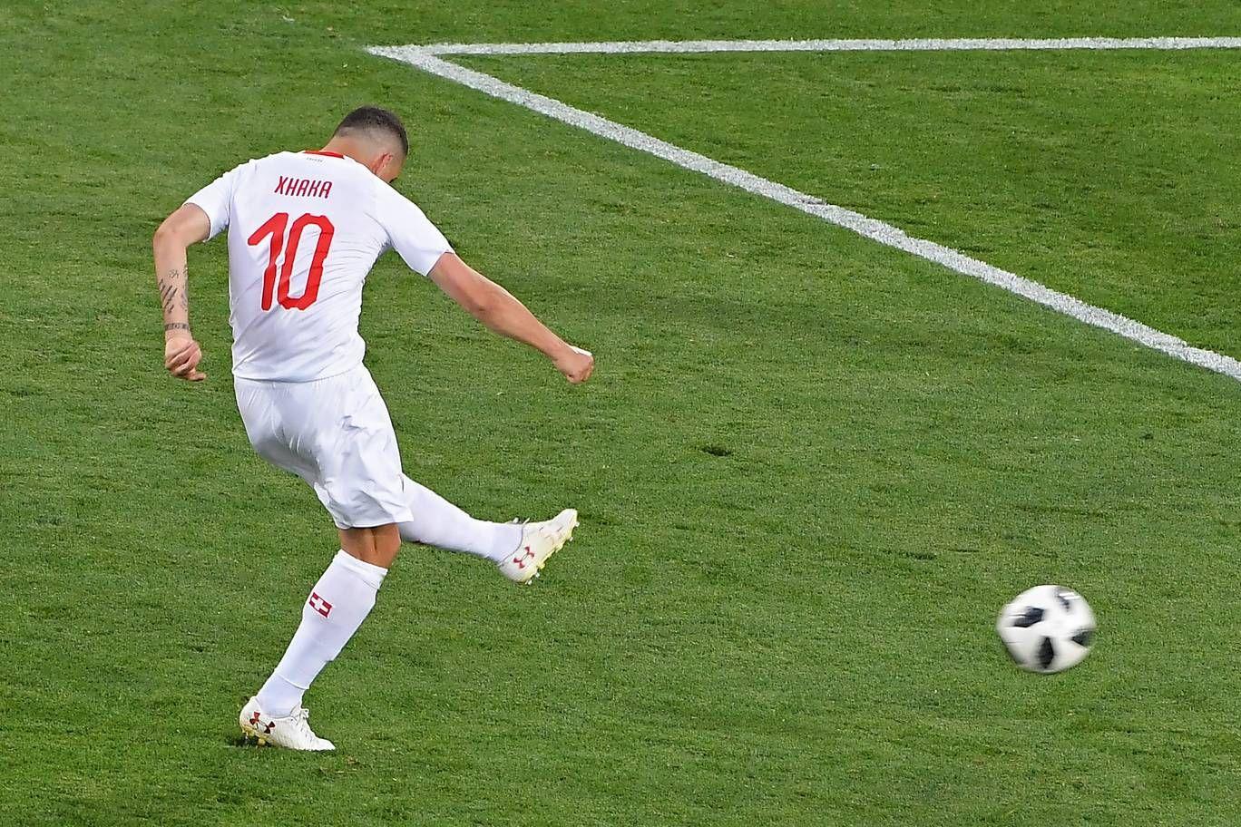 Serbia 1 2 Switzerland Result Fifa World Cup 2018 Football Match Report Shaqiri Serbien Und Granit Xhaka