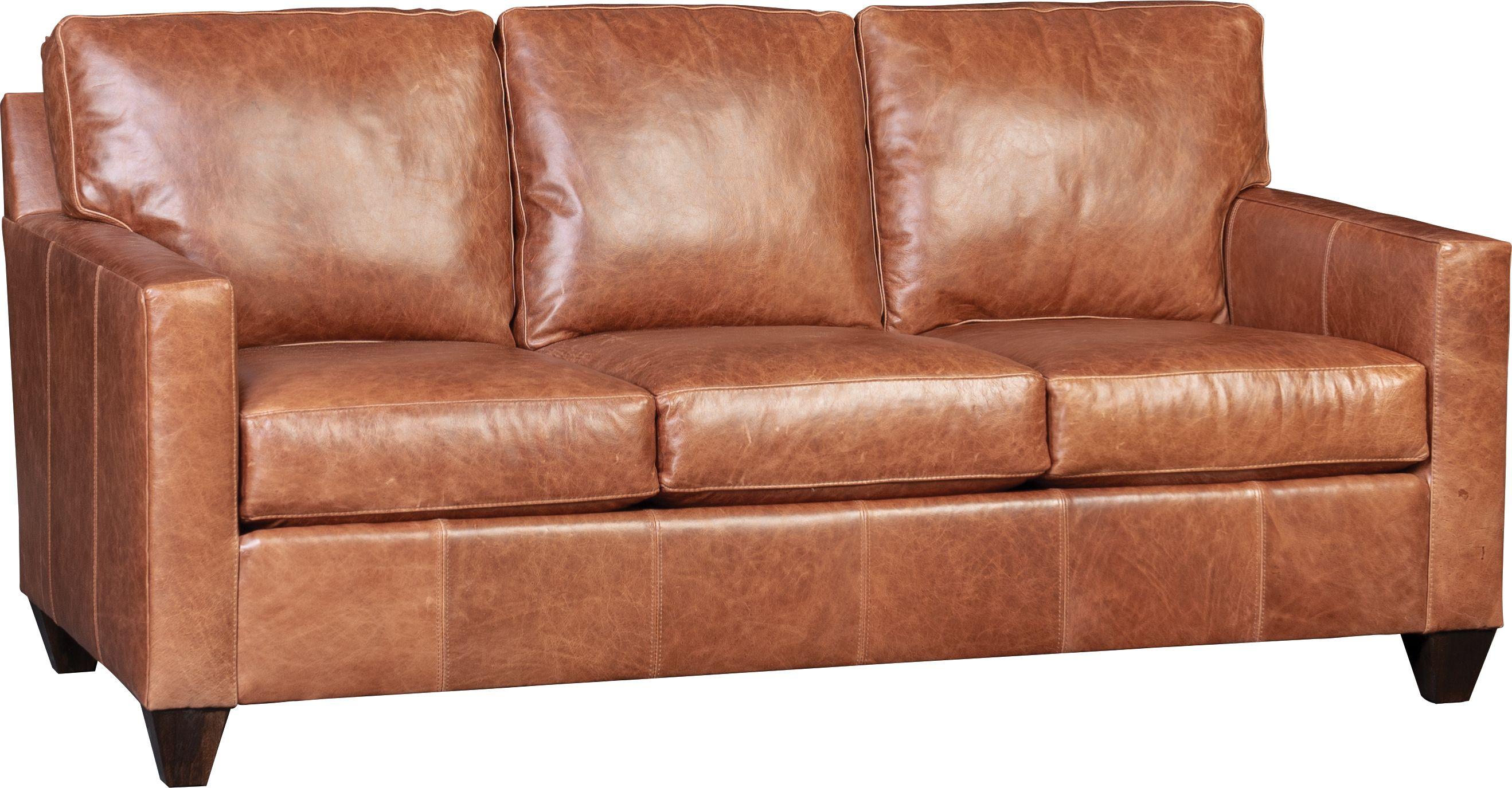 3488l Sofa In Vacchetta Walnut Southwestern Furniture Furniture Store Unique Furniture
