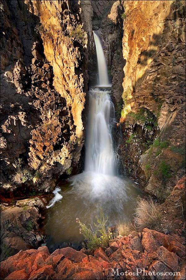 "Taos Waterfall- From the ""Humanlandscapes"" portfolio ... 