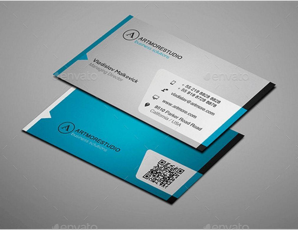 Visitenkarte Vorlage Adobe Business Card Template Ai Datei