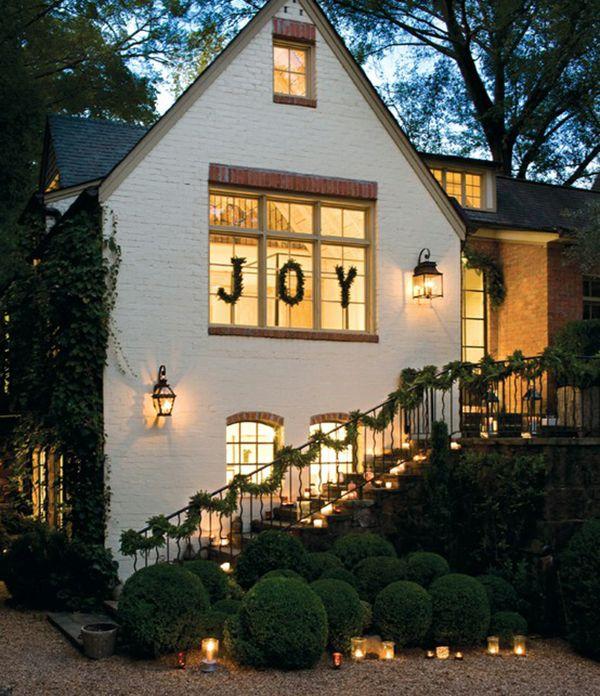 Fachada perfecta Deco Pinterest Fachadas, Perfecta y Interior - decoracion navidea para exteriores de casas