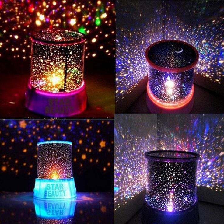 Novelty led night light lamp amazing colorful sky star for home bedroom bedside decoration lampen cartoon