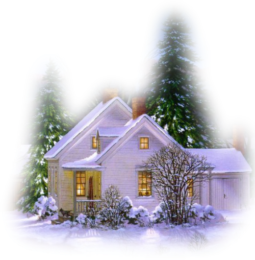 Winter House PNG Picture | Clipart and Printable Images for all ...