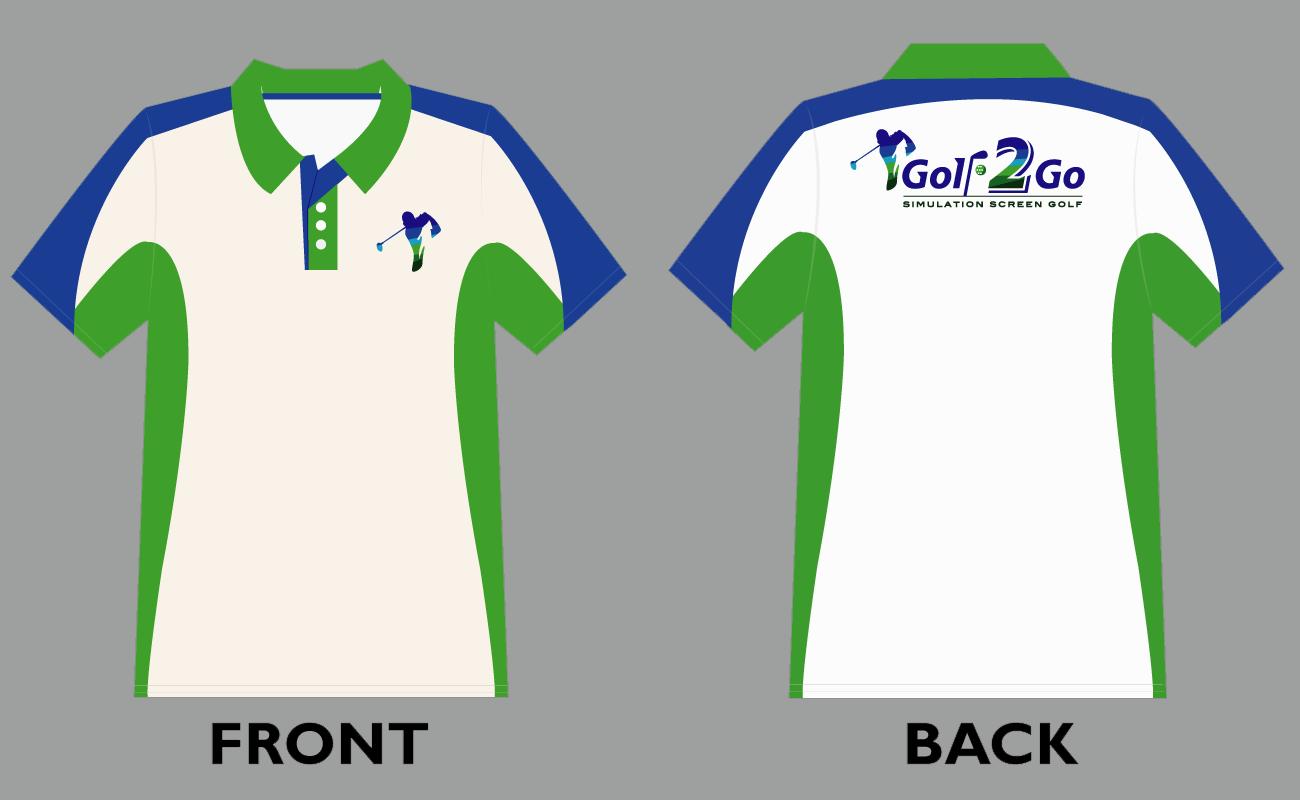 Download Vector Polo Shirt Design Template For Golf2go Golfer Uniform Polo Shirt Design Golf T Shirts Shirt Designs