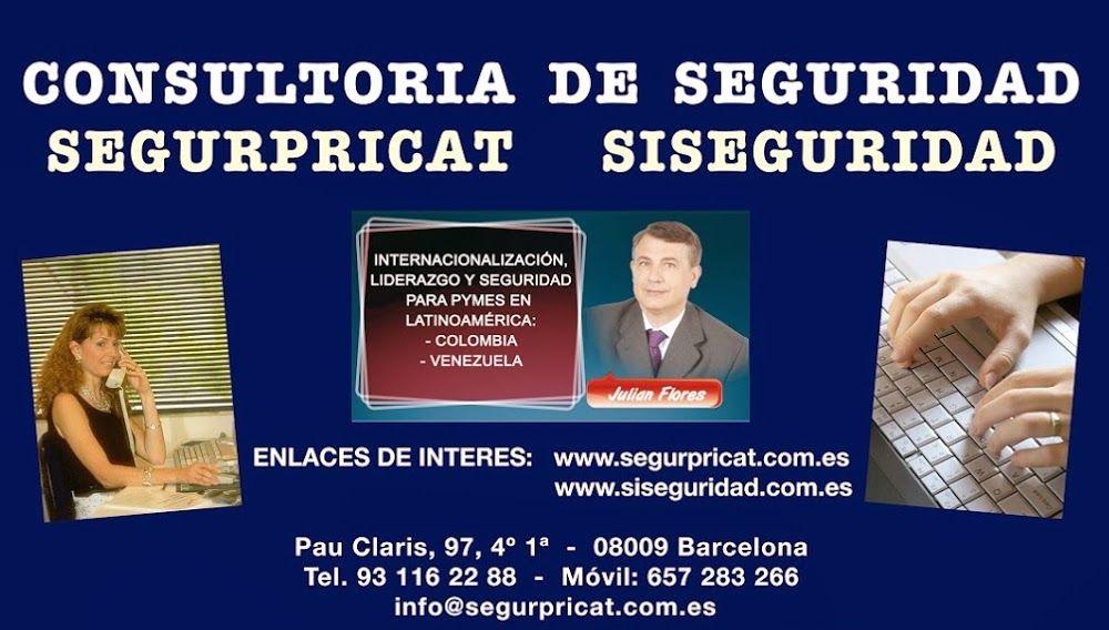 Tenemos como objetivos Segurpricat:  La Consultoria, planificación y asesoramiento… http://wp.me/P2n0XE-3Sv http://www.twitter.com/@juliansafety #careonsafety Foto de portada