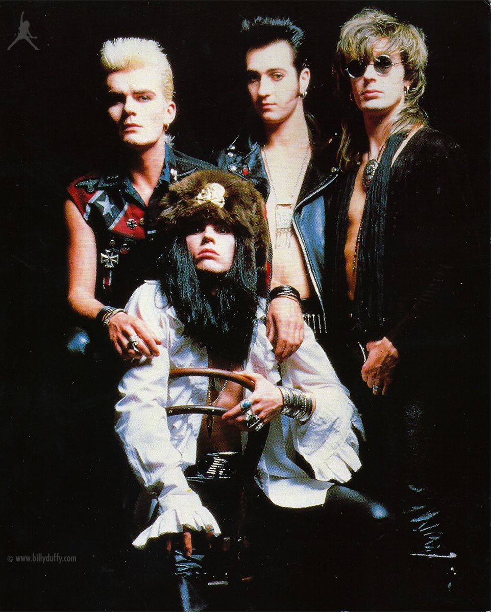 Rock Bands: The Cult 'Electric' Press Photo