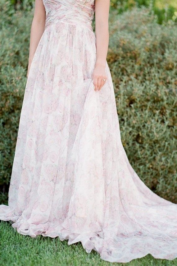 Fun romantic garden themed dress for your bridesmaids