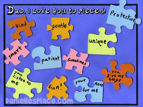 fathers day crafts | Fathers Day Poems Kids – Dltk Kids Father\'s Day ...
