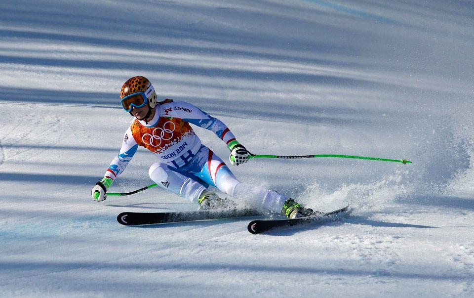 Alpine Skiing - Women's Super-G - Anna Fenninger - Austria - Gold Medallist