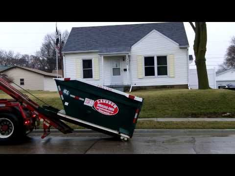 (563) 332-2555  Roll Off Dumpsters Delivered To Davenport, Iowa Quad Cities