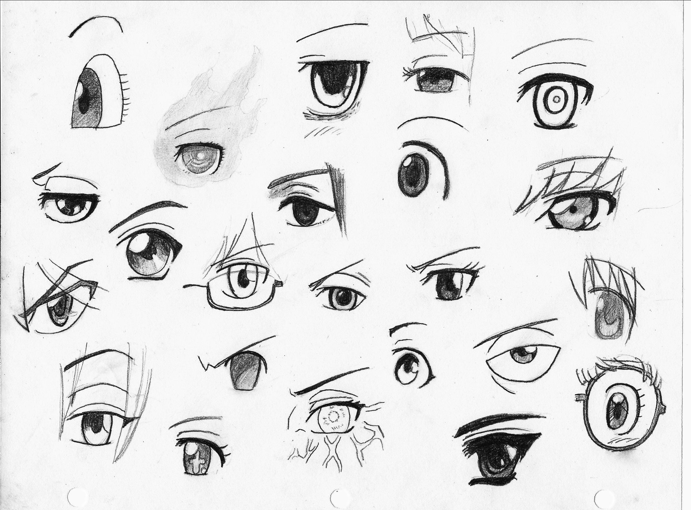 Here S Another Eyes Drawing See If You Can Identify Which Eyes Belong To Which Female Character Answers In The Com Anime Eye Drawing Eye Drawing Anime Eyes