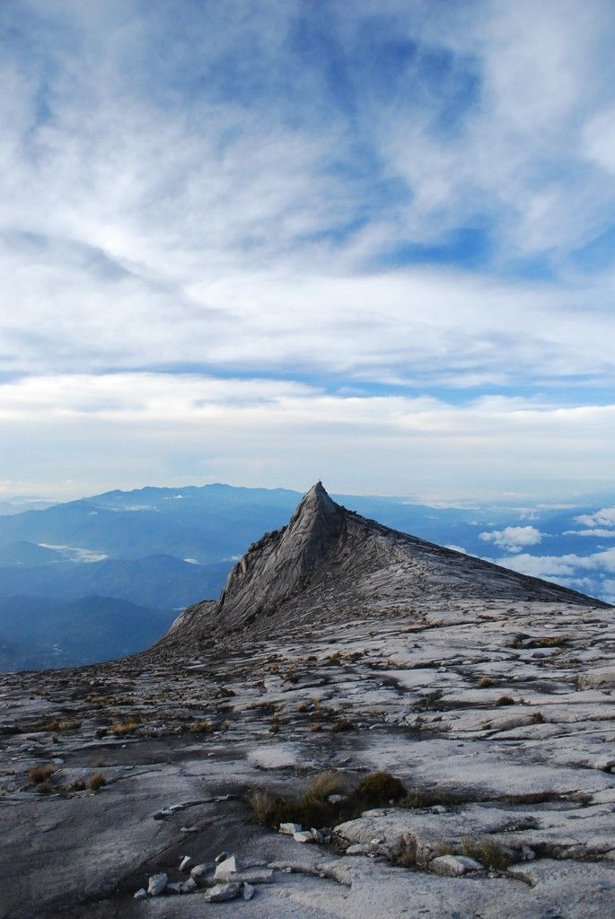 Mount Kinabalu......the highest mountain in Sabah, Malaysia. Low's Peak can be climbed quite easily by a person in good physical condition and there is no need for mountaineering equipment at any point on the main route. Other peaks along the massif, however, require rock climbing skills.