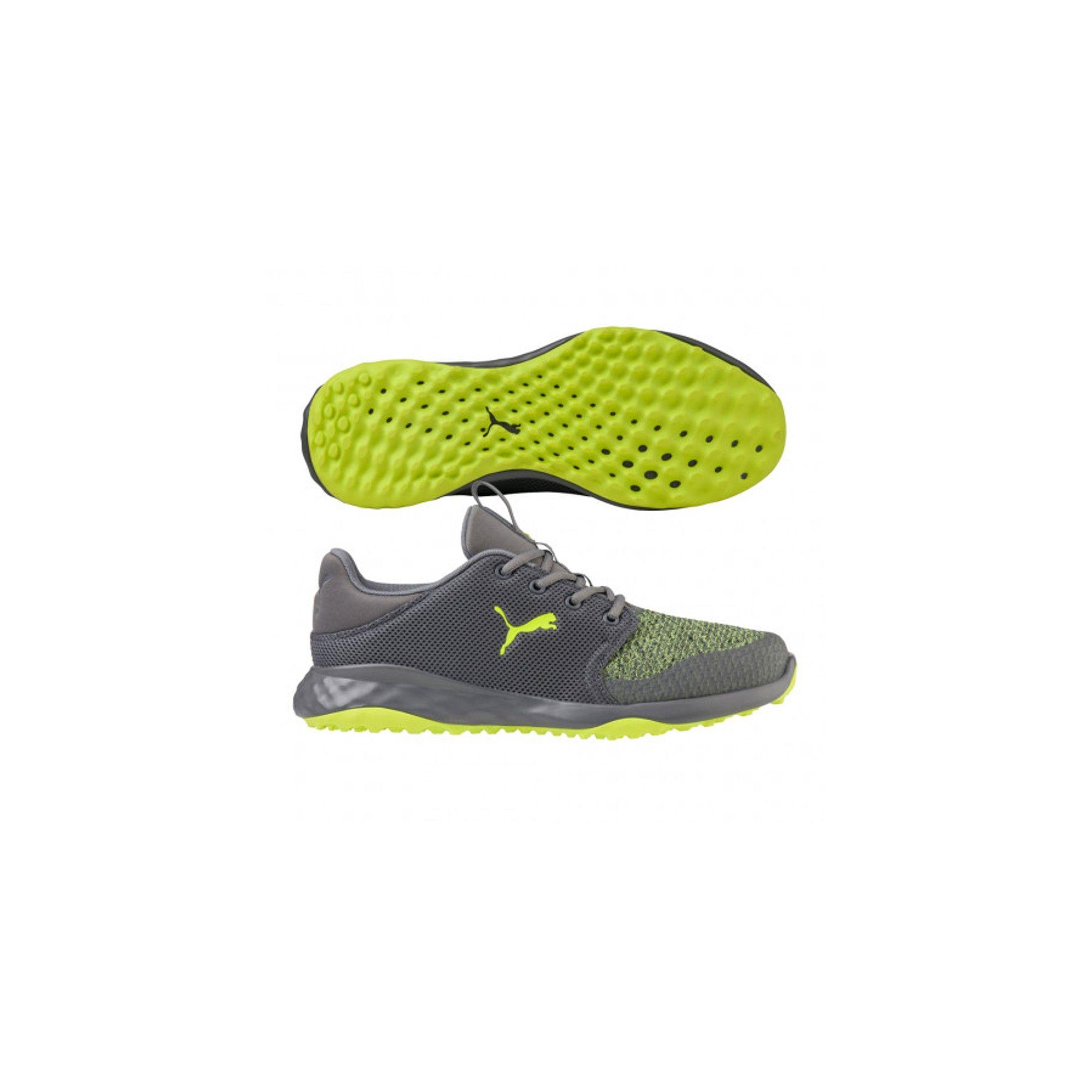 Men's Puma Grip Fusion Sport Spikeless Golf Shoes Quiet