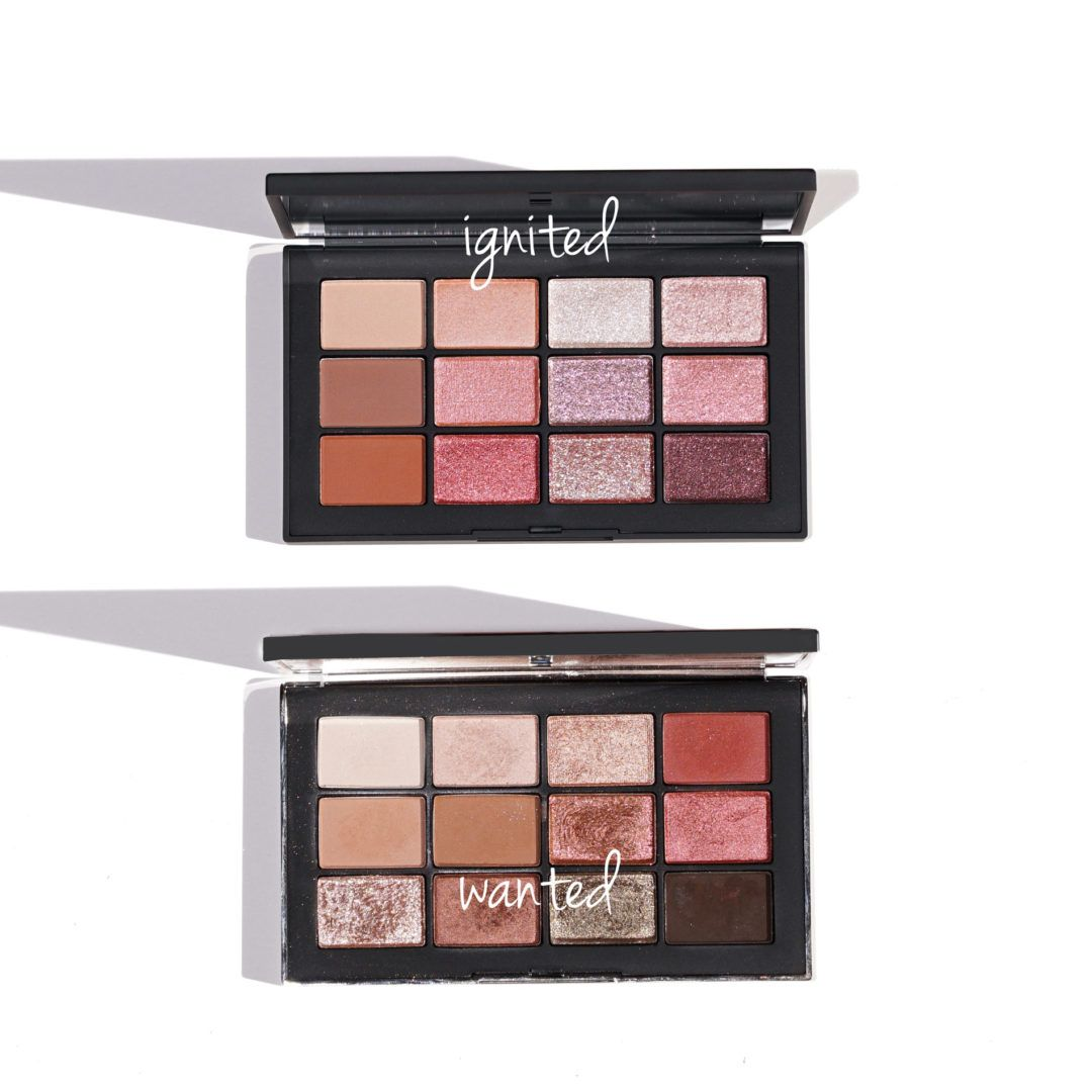 Nars Ignited Vs Wanted Eyeshadow Palettes Eyeshadow Eyeshadow Palette Eye Makeup