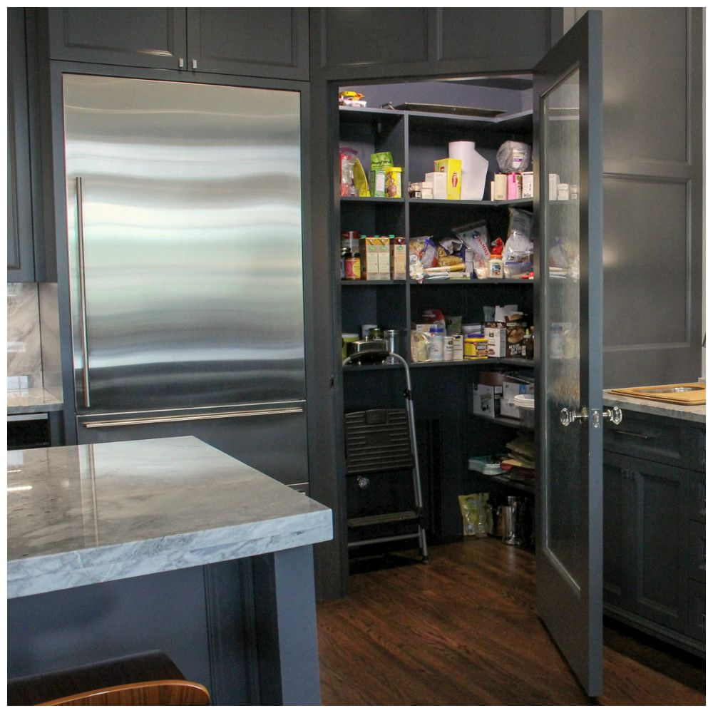 Walk In Pantry By Ayr Custom Cabinetry. Addition By Martin Bros.  Contracting,