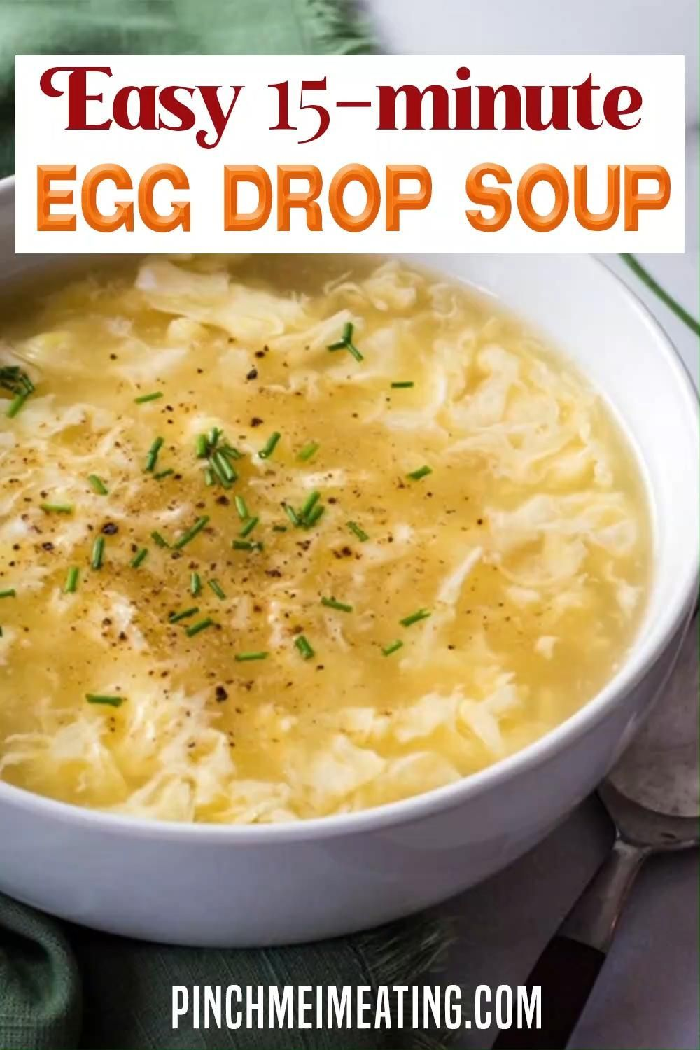 Reastaurant Style Easy 15-Minute Egg Drop Soup Rec