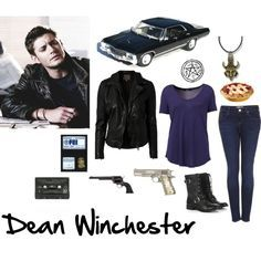 Dean Winchester Inspired Outfit | Crwativity | Pinterest | Inspired Outfits Winchester And Dean