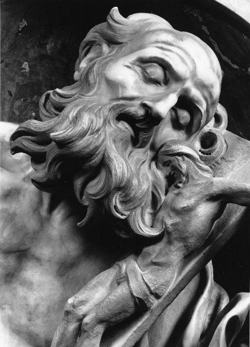 Sculpture of Saint Jerome by Gian Lorenzo Bernini