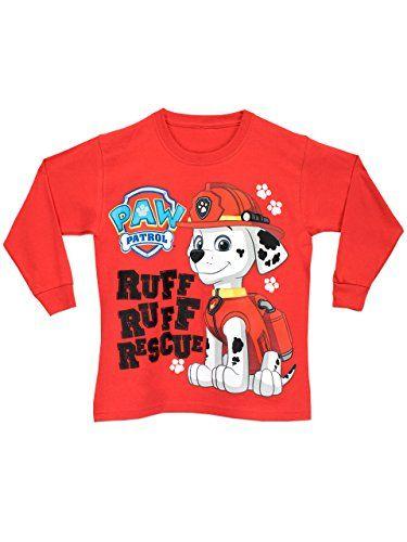 c7ea5c2ab Paw Patrol - Camiseta de manga larga - para niño - La Patrulla Canina - 7 -  8 Años  camiseta  friki  moda  regalo