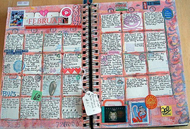 calendar journaling
