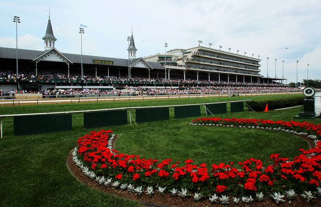 The Kentucy Derby Winner's Circle Is Seen During The 138th