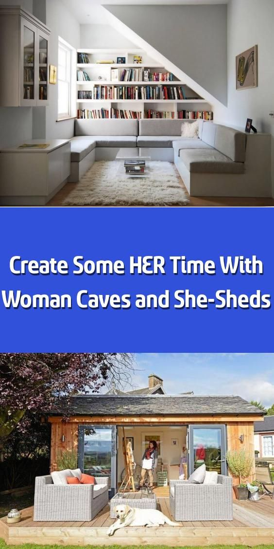 Photo of Create Some HER Time With Woman Caves and She-Sheds – We hope you like the produ…