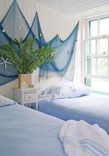Camera da letto stile marina - Cameretta in stile marina | Beach ...