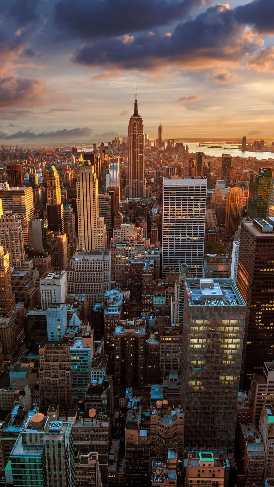 1080x1920 4k city wallpaper New york wallpaper, City