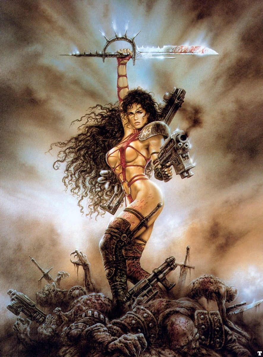 Luis Royo Fantasy Art Posters