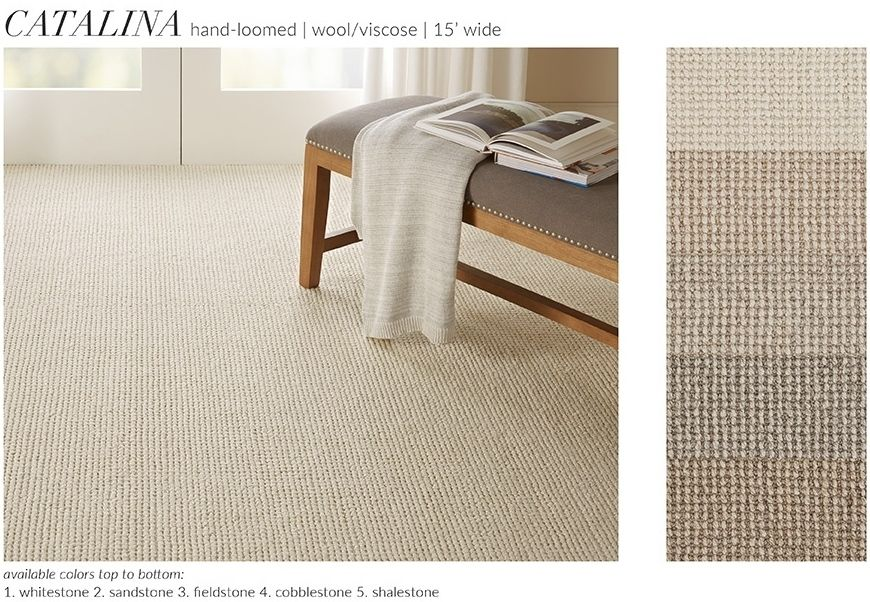 Catalina Is A New Hand Loomed Broadloom By Nourison Created With A 15 Foot Width To Minimize Seams In Wall To Wall Instal Nourison Wall Installation Area Rugs