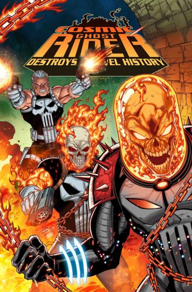 Cosmic Ghost Rider Destroys Marvel History 1 (OF 6) Lim
