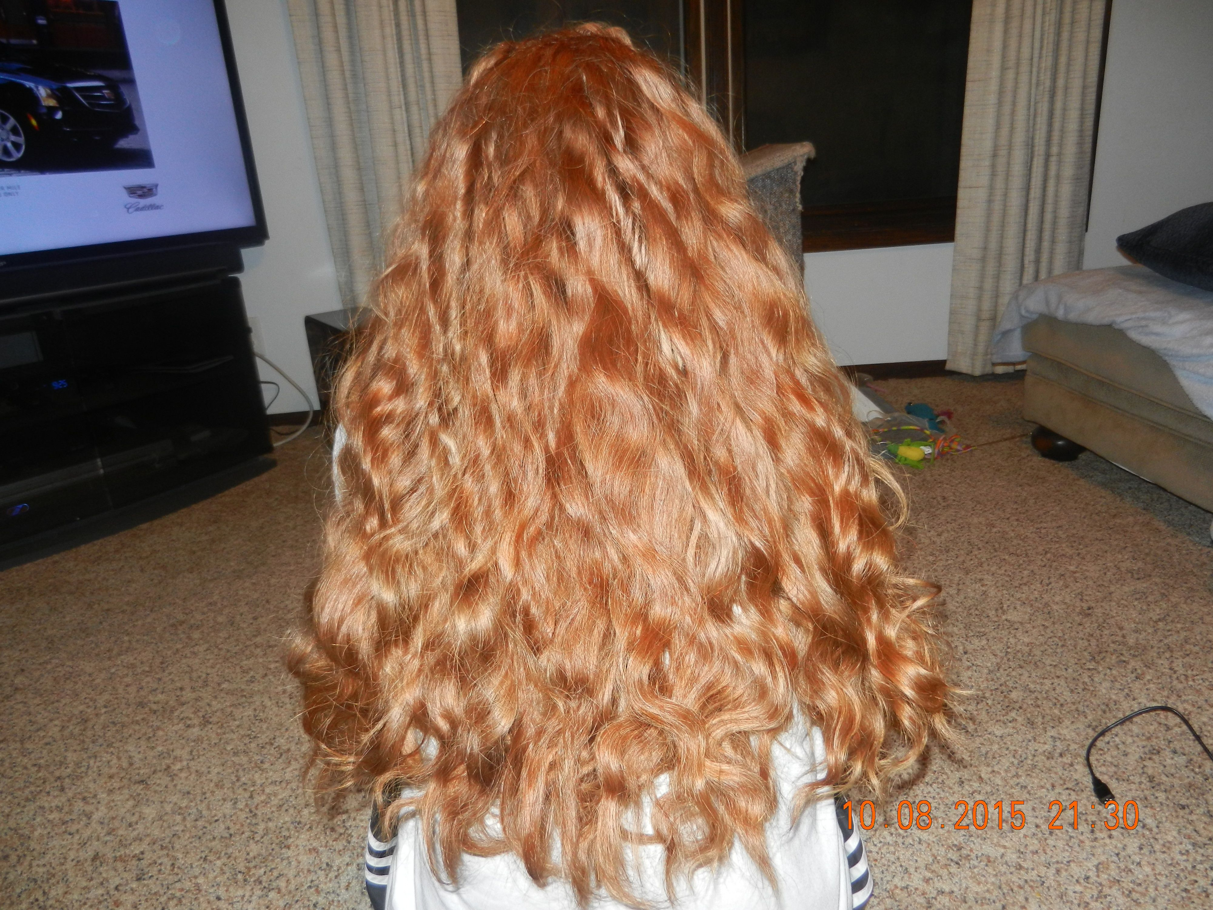 My Hair After French Braid Was Taken Out Hair Styles Long Hair