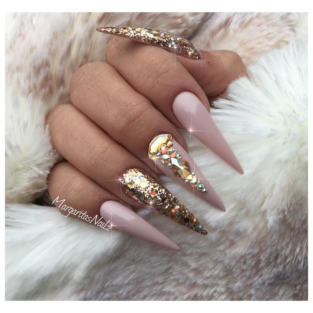 Pin by Анна on Hairs, Nails & Make up | Pinterest | Stiletto nails ...