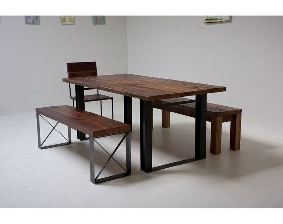 Custom Made Bold Reclaimed 'Mt Whitney Dining Table'
