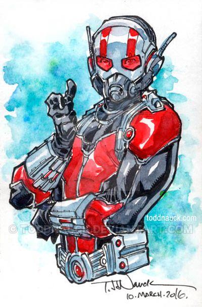 Ant-Man by ToddNauck on DeviantArt