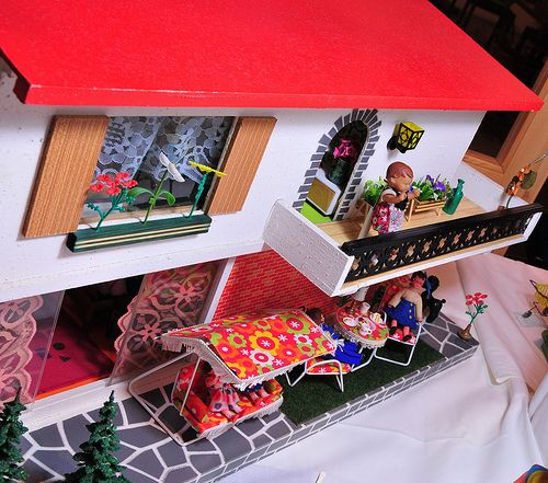 1970er albin sch nherr puppenhaus dolls dollhouses miniature stuff love pinterest. Black Bedroom Furniture Sets. Home Design Ideas