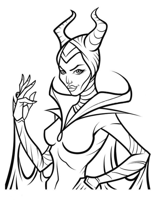 Kids N Fun Coloring Page Maleficent Maleficent Disney Coloring Pages Descendants Coloring Pages Sleeping Beauty Coloring Pages