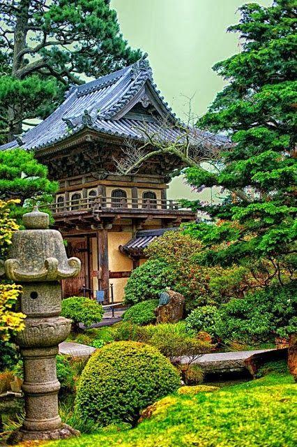 Famous Gardens of the World - The Japanese Tea Garden in Golden Gate Park
