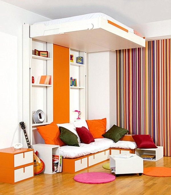 Simple Storage Diy Ideas For The Home Small Space Storage Mobile Bed