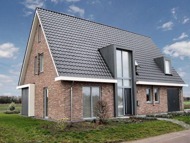 Afbeeldingsresultaat voor laagbouw vrijstaande woning for Huizen stijlen