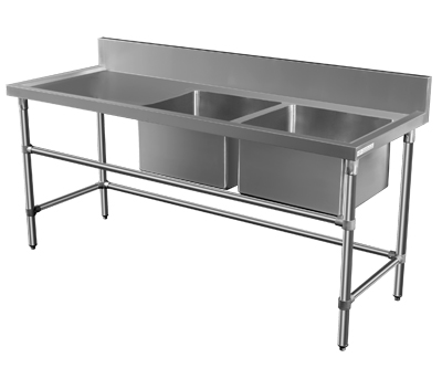 Commercial Sink Bench Minox Dm33 6 1500 Double Sink Bench Www