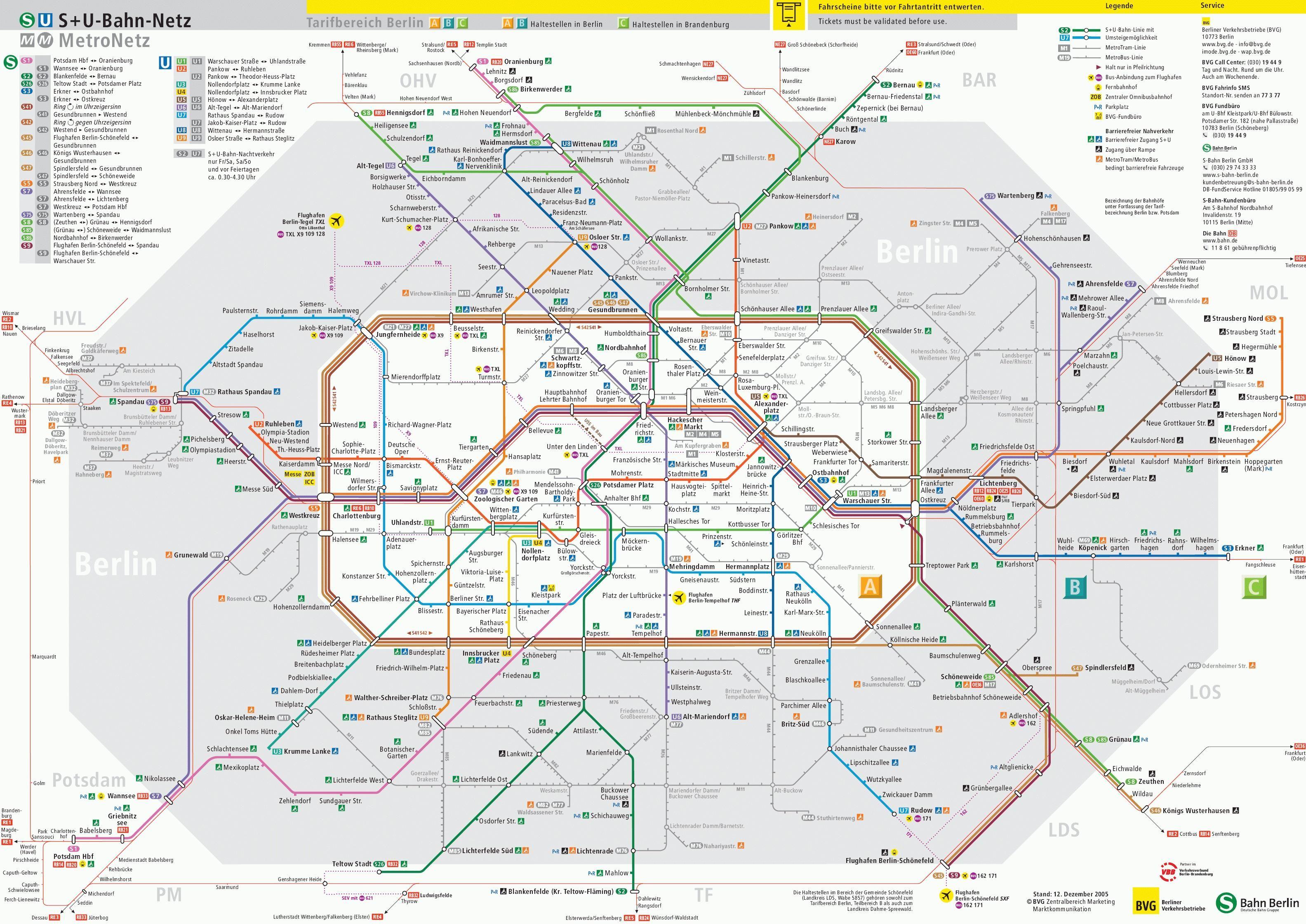 Berlin U Bahn Metro Map Lines Hours And Tickets Mapa Metro Com Metro Map Subway Map Transport Map