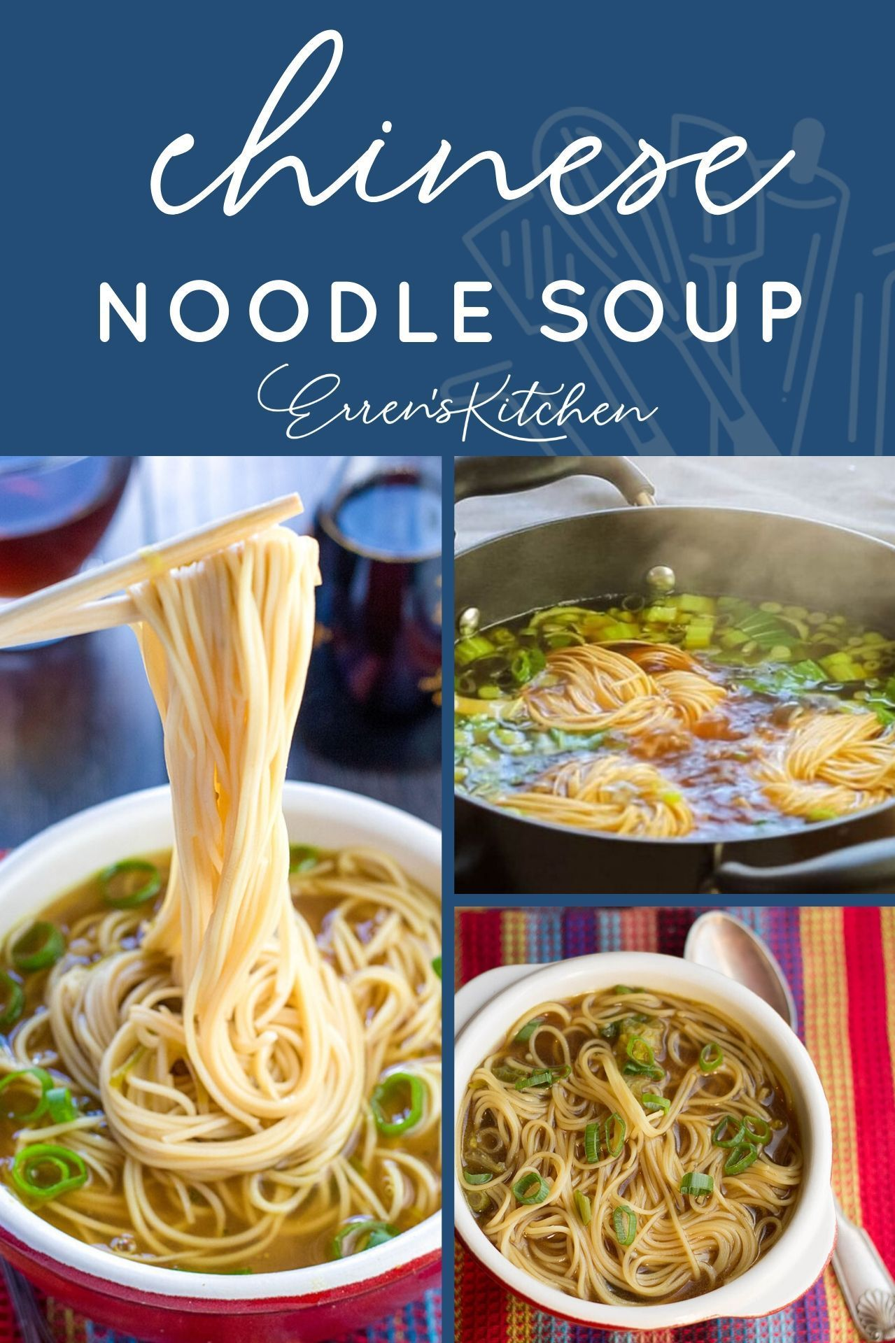 Quick Easy Chinese Noodle Soup Recipe Soup And Sandwich Foods With Calcium Cooking Dinner